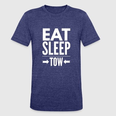 Eat Sleep Tow Eat Sleep Tow - Unisex Tri-Blend T-Shirt