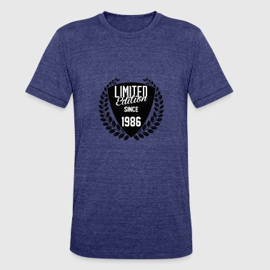 Since 1986 Limited Edition Since 1986 - Unisex Tri-Blend T-Shirt