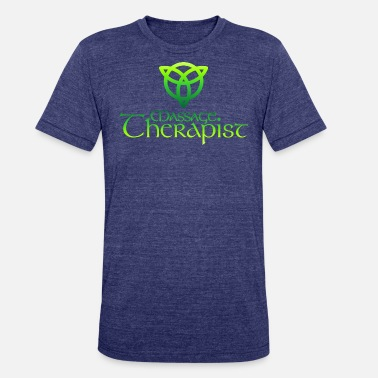 Licensed Massage Therapist Massage Therapist Celtic Green - Unisex Tri-Blend T-Shirt