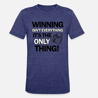 Winning boxing design - Unisex Tri-Blend T-Shirt
