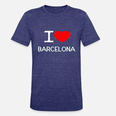 1ee6931b5 I Love Barcelona I LOVE BARCELONA - Unisex Tri-Blend T-Shirt