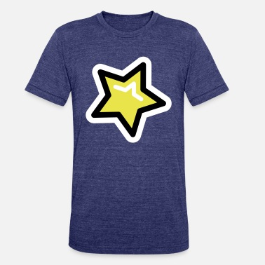 Pop Star Pop Star, Star, Trendy Star - Unisex Tri-Blend T-Shirt