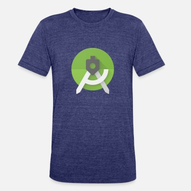 Android Android Studio - Unisex Tri-Blend T-Shirt