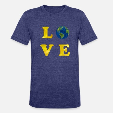 Funny Earth Day Happy Earth Day - Unisex Tri-Blend T-Shirt
