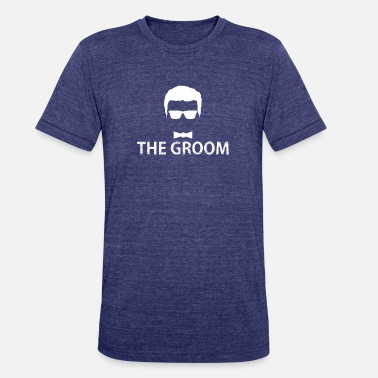 Bachelors Night The Groom Wedding Night Bachelor Design - Unisex Tri-Blend T-Shirt
