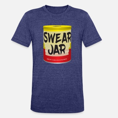 Misty Knight Pop's Swear Jar - Unisex Tri-Blend T-Shirt