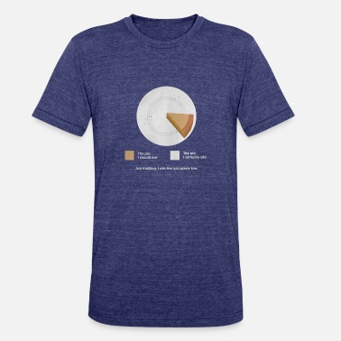 I Ate Some Pie I Ate The Pie - Unisex Tri-Blend T-Shirt