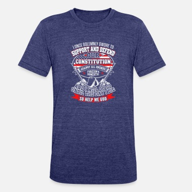 The American Constitution Constitution - Unisex Tri-Blend T-Shirt