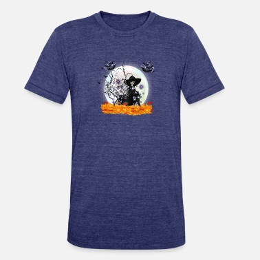 Night Of The Witches Witches Halloween night - Unisex Tri-Blend T-Shirt