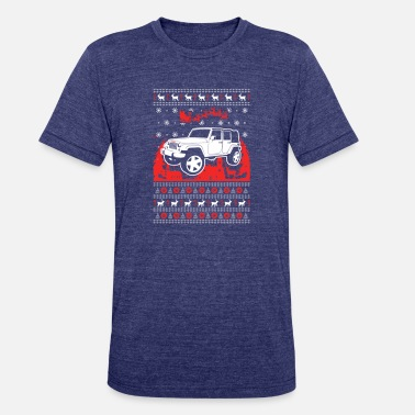 Jeep Lover Christmas - Unisex Tri-Blend T-Shirt
