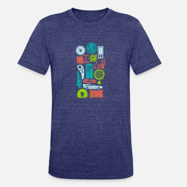 Time Machine Time Machines - Unisex Tri-Blend T-Shirt
