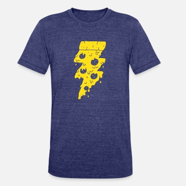 Flash Game FLASH FOOD - Unisex Tri-Blend T-Shirt