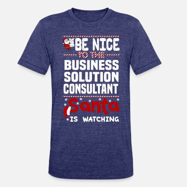 Consultant Business Solution Consultant - Unisex Tri-Blend T-Shirt