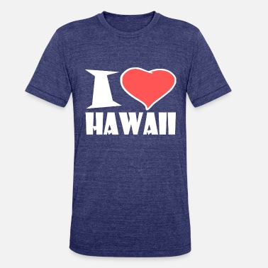 Hawaii HAWAII - Unisex Tri-Blend T-Shirt