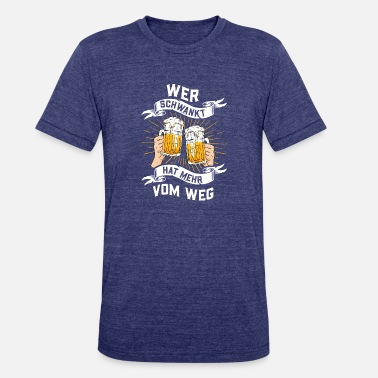 Pub Crawl Beer, Men's Evening, Football Club, Drinking - Unisex Tri-Blend T-Shirt