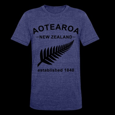New Zealand Design - Unisex Tri-Blend T-Shirt