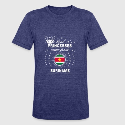 queen love princesses SURINAME - Unisex Tri-Blend T-Shirt by American Apparel