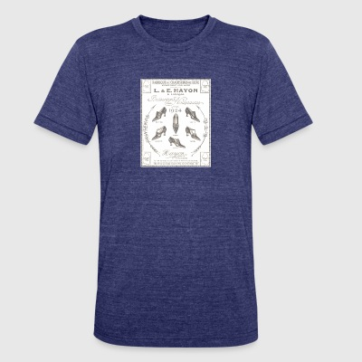 even back than...shoes... - Unisex Tri-Blend T-Shirt by American Apparel