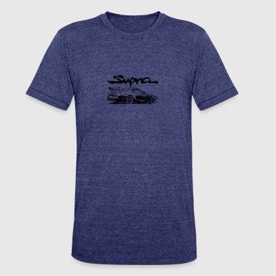 Toyota Supra - Unisex Tri-Blend T-Shirt by American Apparel