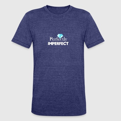 Perfectly Imperfect - Unisex Tri-Blend T-Shirt by American Apparel