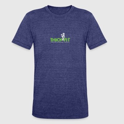THICK FIT FOR THE EVERYDAY WOMAN - Unisex Tri-Blend T-Shirt by American Apparel