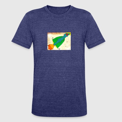 Falling Up - Unisex Tri-Blend T-Shirt by American Apparel