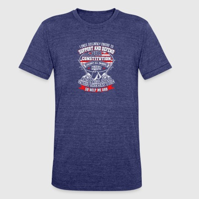 Constitution - Unisex Tri-Blend T-Shirt by American Apparel