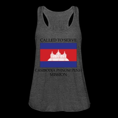 Cambodia Phnom Penh LDS Mission Called to Serve - Women's Flowy Tank Top by Bella