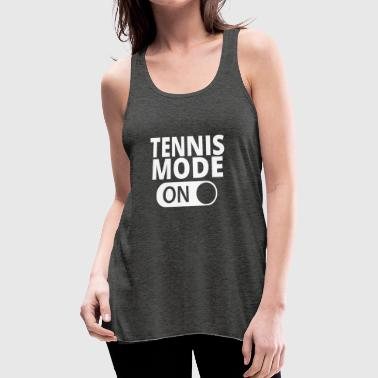 MODE ON TENNIS - Women's Flowy Tank Top by Bella