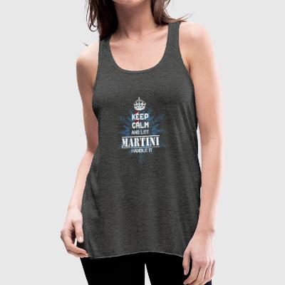 MARTINI T Shirt - Women's Flowy Tank Top by Bella