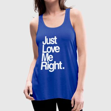 EXO: Love Me Right Simple - Women's Flowy Tank Top by Bella