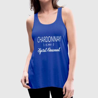 SS-5140 Chardonnay is my Spirit Animal - Women's Flowy Tank Top by Bella