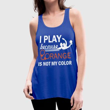waterpolo design - Women's Flowy Tank Top by Bella