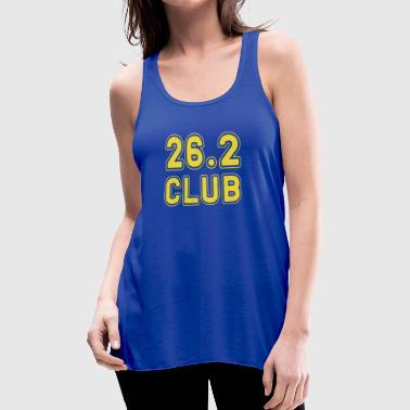 26.2 Club Boston Running Marathon - Women's Flowy Tank Top by Bella