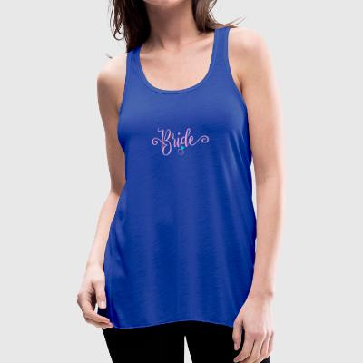 Bride ring gift for the bachelorette party - Women's Flowy Tank Top by Bella