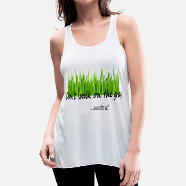 Grass grass - Women's Flowy Tank Top by Bella