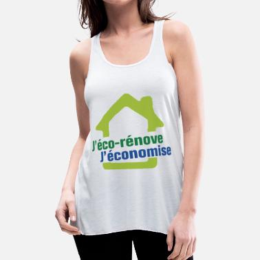 Renovation j Eco Renove j Economise - Women's Flowy Tank Top by Bella