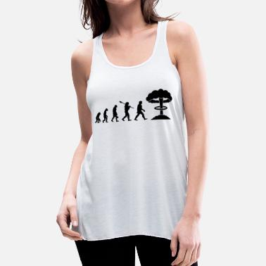 Nuclear Evolution of Nuclear - Women's Flowy Tank Top