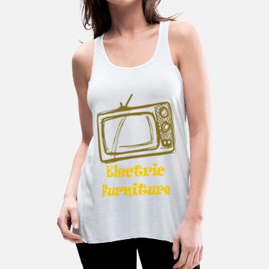 Tv TV - Women's Flowy Tank Top by Bella