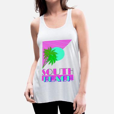 South Beach South Beach 80s - Women's Flowy Tank Top by Bella