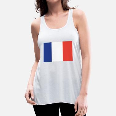French Flag Flag of France Cool French Flag - Women's Flowy Tank Top by Bella