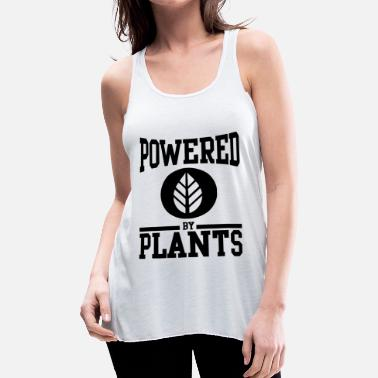 Plant POWERED BY PLANTS - Women's Flowy Tank Top