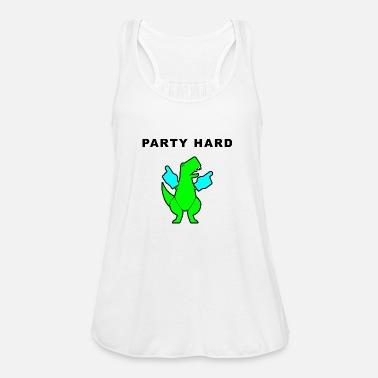 cafaffe0f49b7 Party Hard Dinosaurs Women s Premium Tank Top