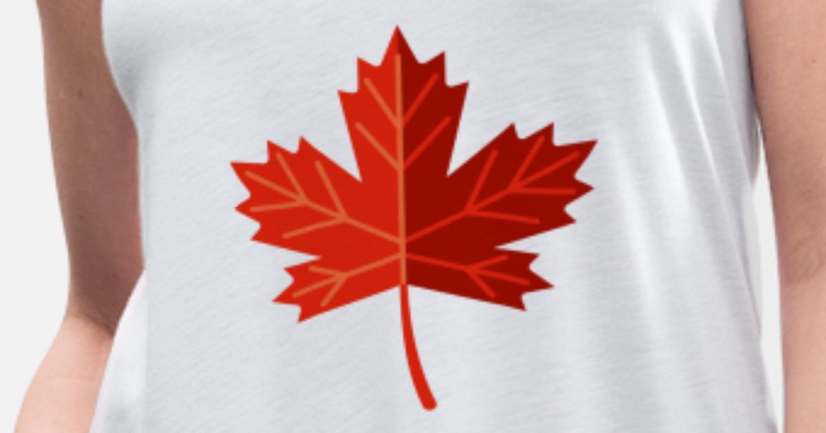 Canadian Maple Leaf Women S Flowy Tank Top Spreadshirt