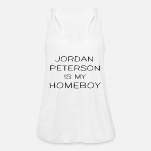 02fa8872f9487 Jordan Peterson Is My Homeboy Funny Quote Design Women s Premium ...