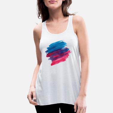 Paint Brush paint brush - Women's Flowy Tank Top