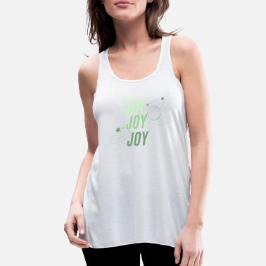 Joy JOY JOY JOY - Women's Flowy Tank Top