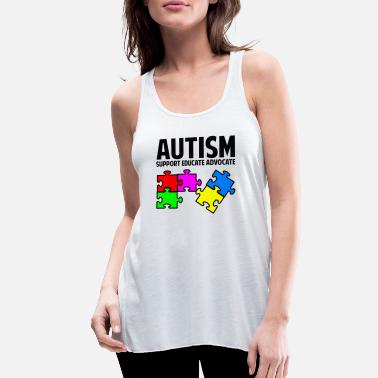 Autism Autism Awareness - Women's Flowy Tank Top