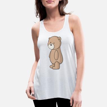 Teddy Bear teddy bear - Women's Flowy Tank Top
