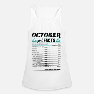 October Girl Facts Libra Women's T-Shirt | Spreadshirt